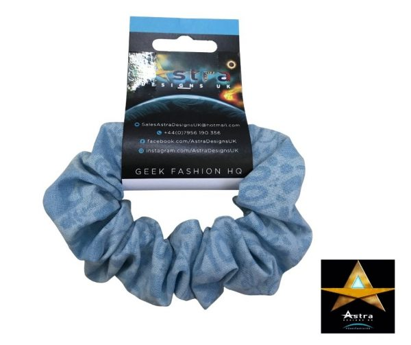 Princess blue scrunchie