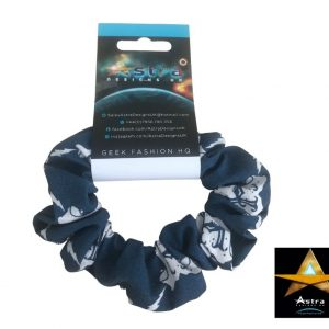 Hogwarts scrunchie blue
