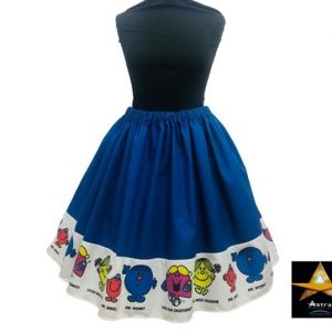 Mr men - twirl skirt - geek fashion