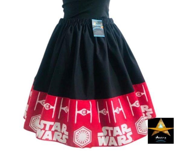 Red Star wars twirl skirt