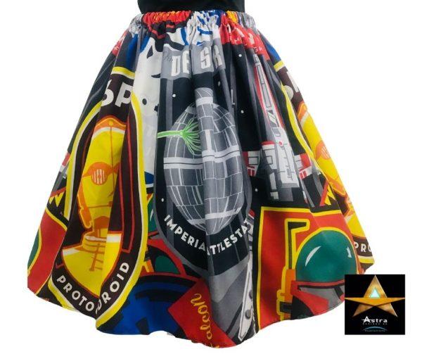 Star Wars skirt front