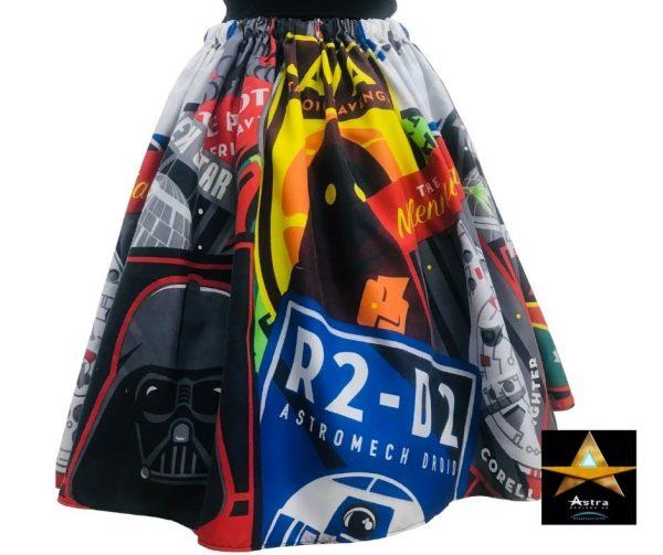 Star Wars Skirt back