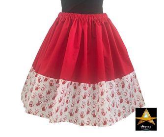 BLOODY Hands horror skirt